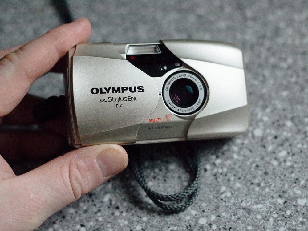Olympus Stylus Epic camera