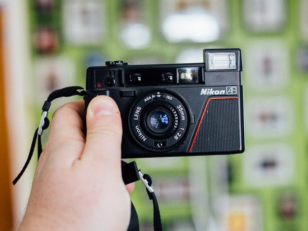 Nikon L35AF film camera