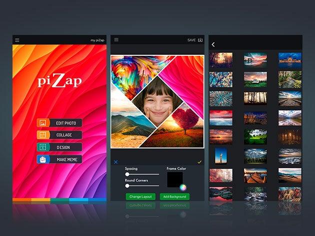 piZap Pro: Lifetime Subscription