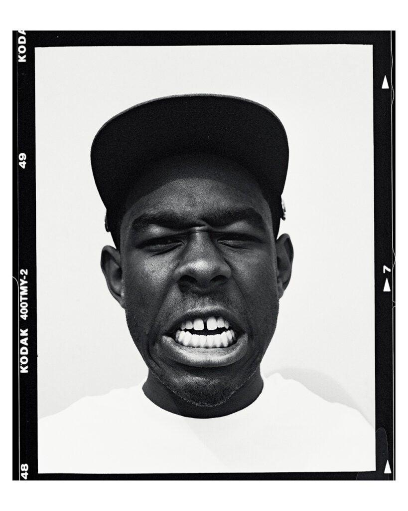 Tyler photo showing teeth
