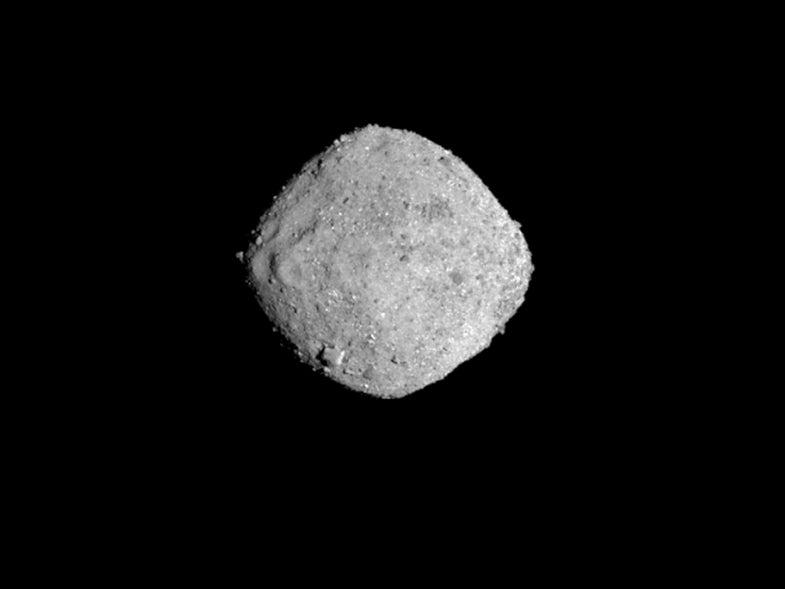 Watch NASA's OSIRIS-REx spacecraft zoom in on its asteroid target