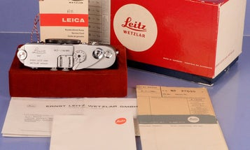 eBay Watch: The very last Leica M3 ever made is on sale for $550,000