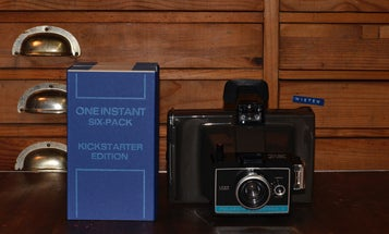 One Instant is a peel-apart instant film from the creators of the Impossible Project