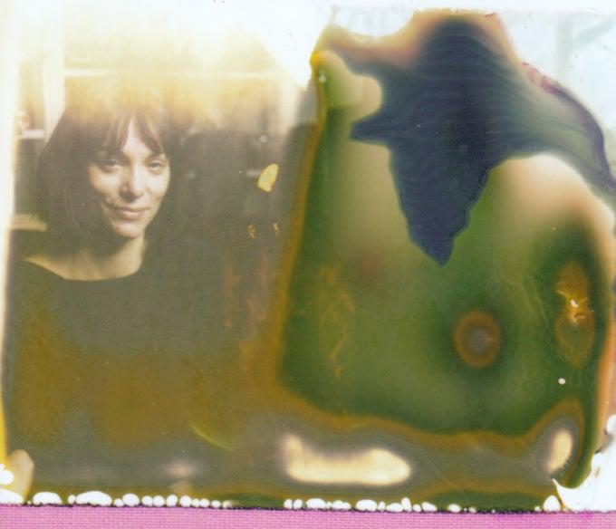 damaged photograph