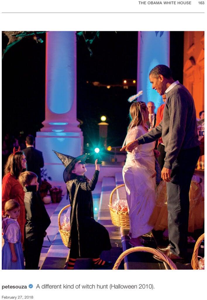 Barack Obama at Halloween