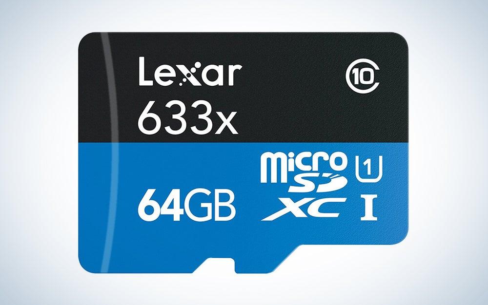 Lexar High-Performance Micro SD cards