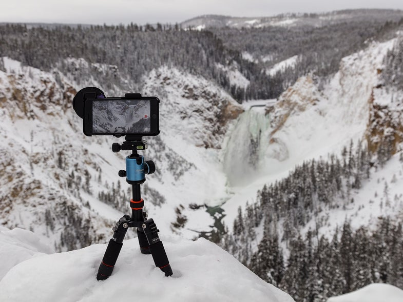 Lookout Point, Yellowstone Park