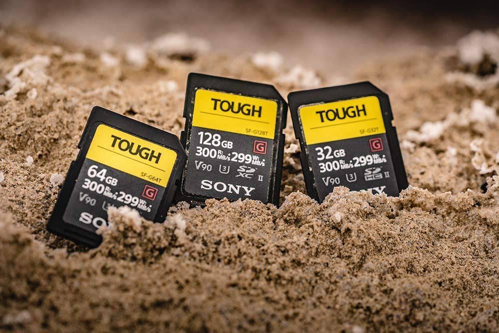 Sony Tough SD Cards