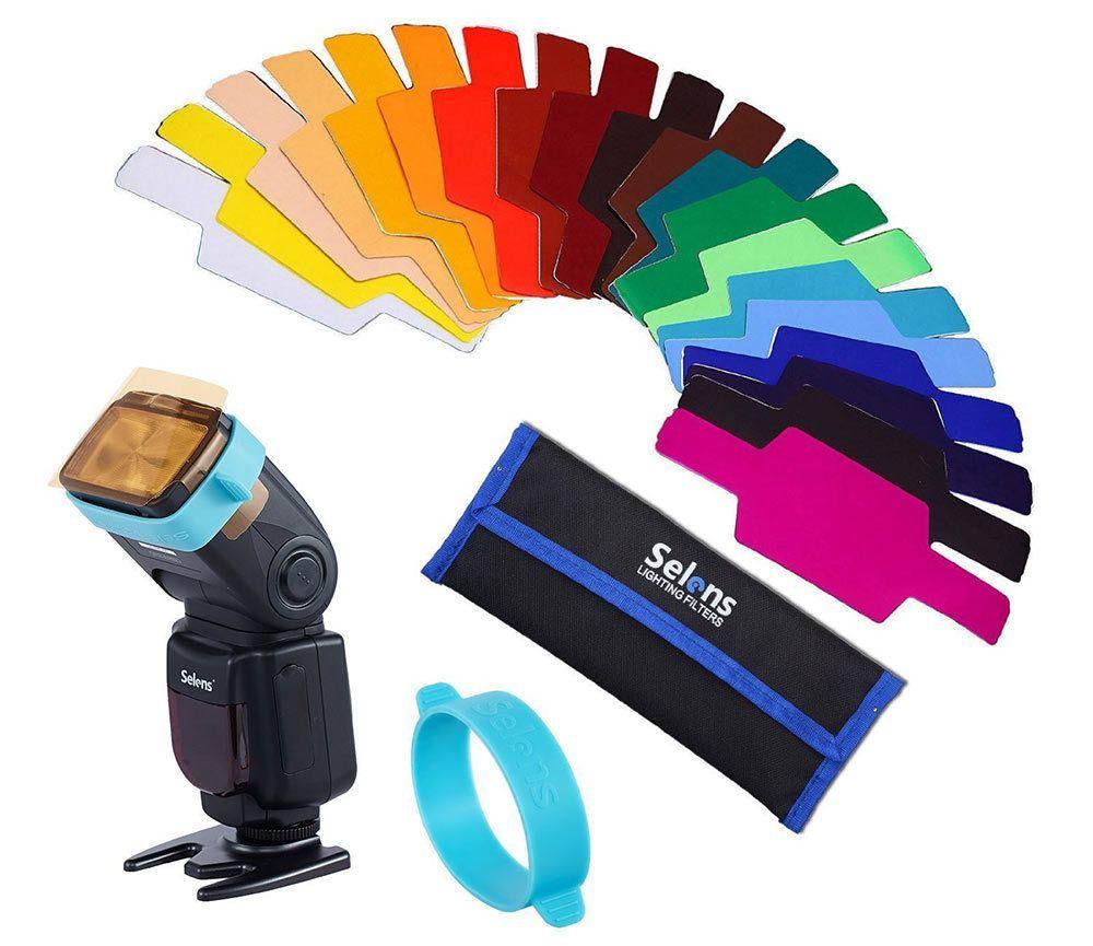 Universal Flash Gels Lighting Filter Kit