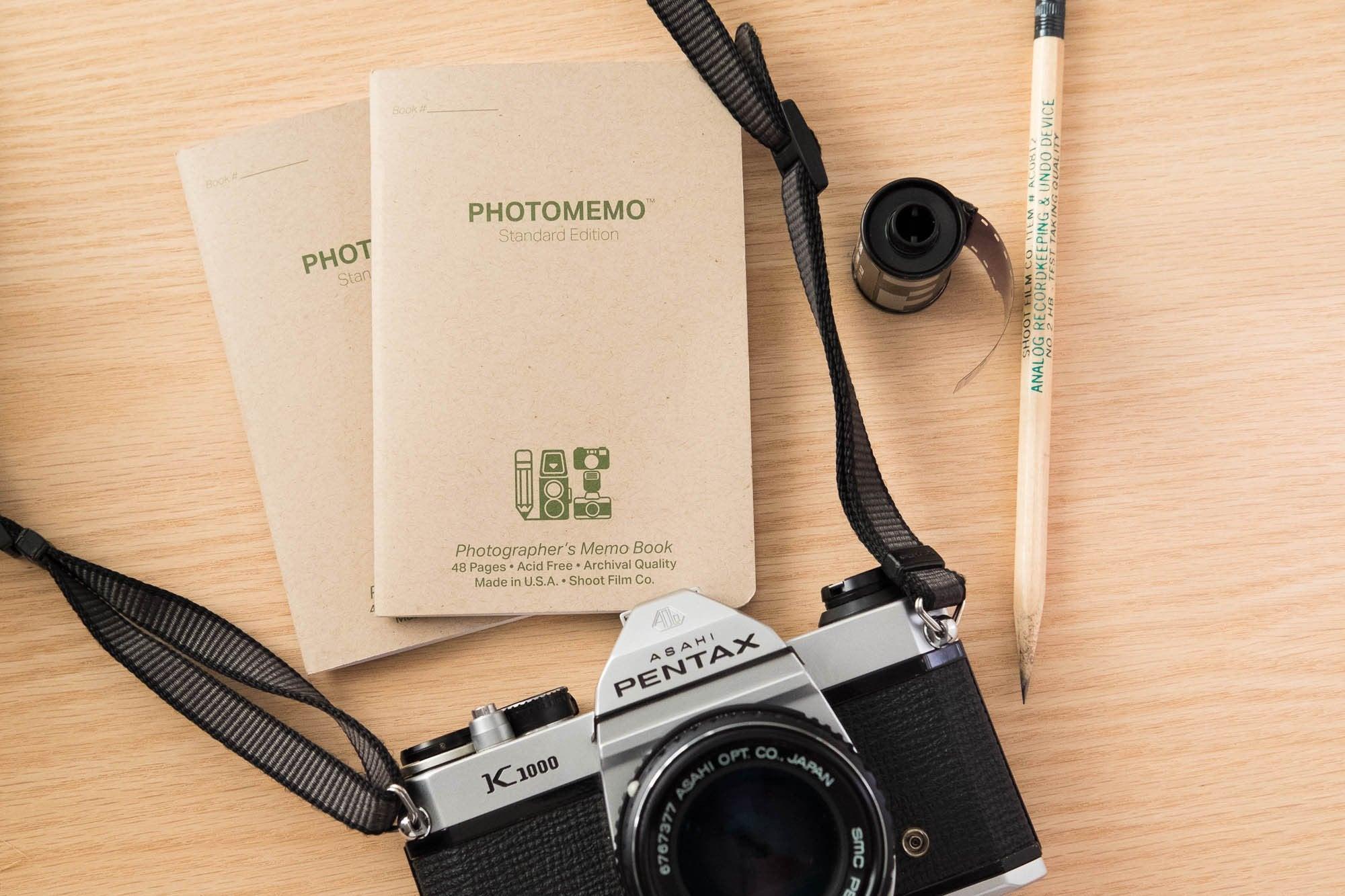 PhotoMemo notebooks
