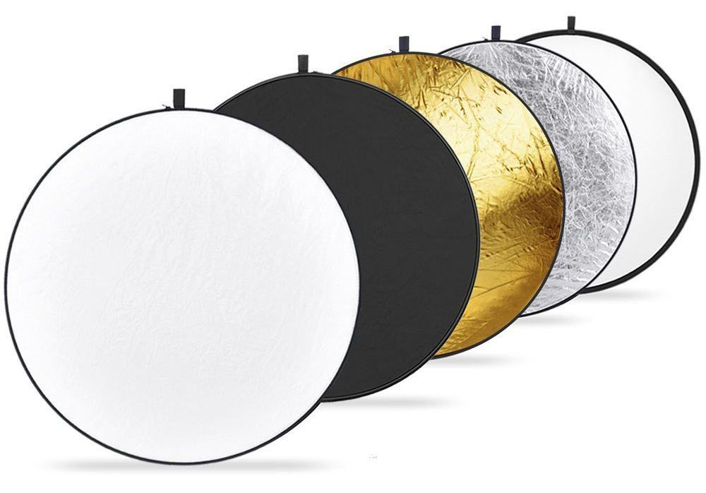 Collapsible Multi-Disc Light Reflector with Bag