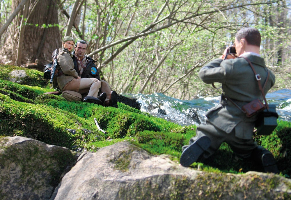 couple photo at Marwencol Falls
