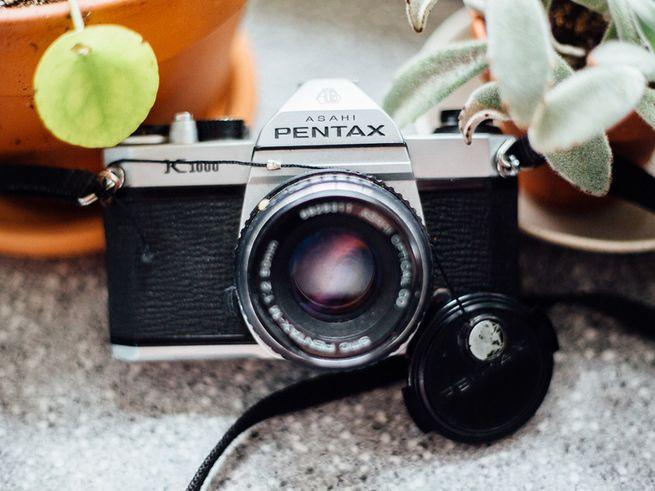 Asahi Pentax Camera