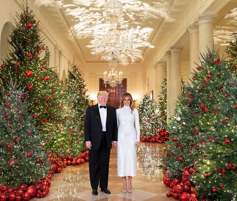 white house christmas portrait