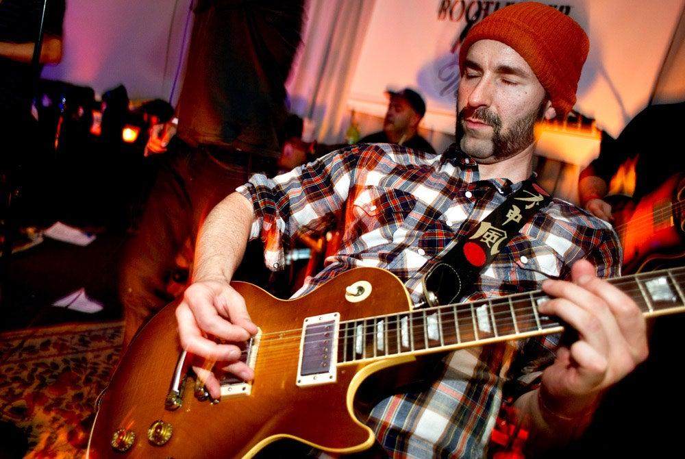 Brick City Riots guitarist