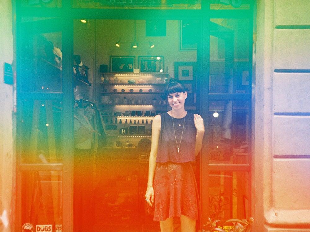 rainbow film girl