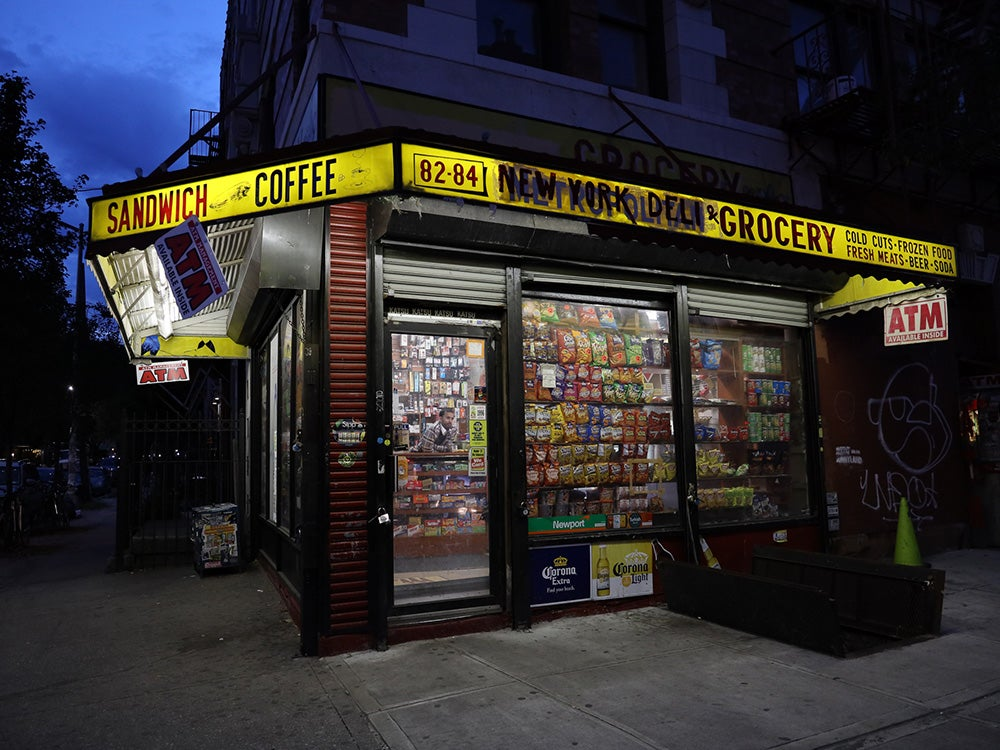 corner sandwich and coffee shop