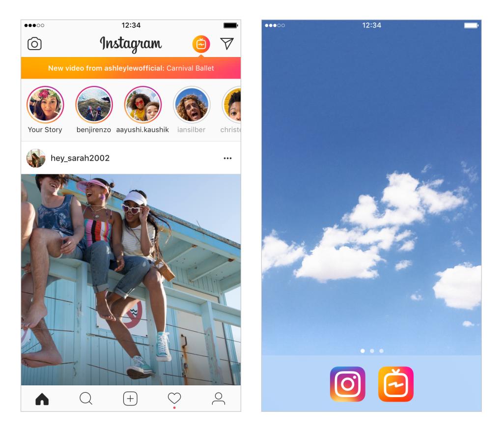 IGTV Instagram app update social