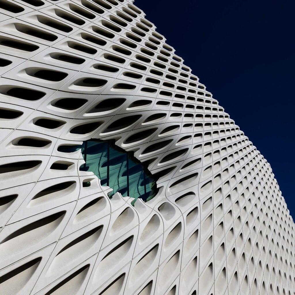 Broad Building window