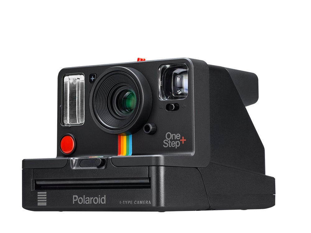 Polaroid Onestep+ side view