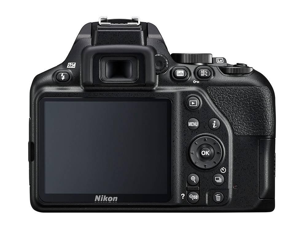 Nikon D3500 back screen