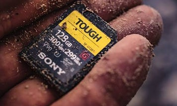 Sony's new Tough SD cards are 18 times stronger than your current card
