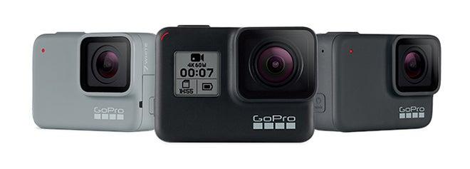 GoPro Hero 7 models