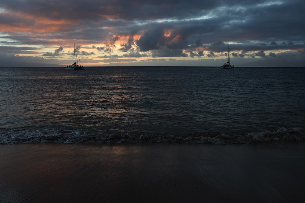 sunset sample image