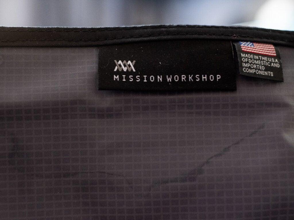 Mission Workshop tags
