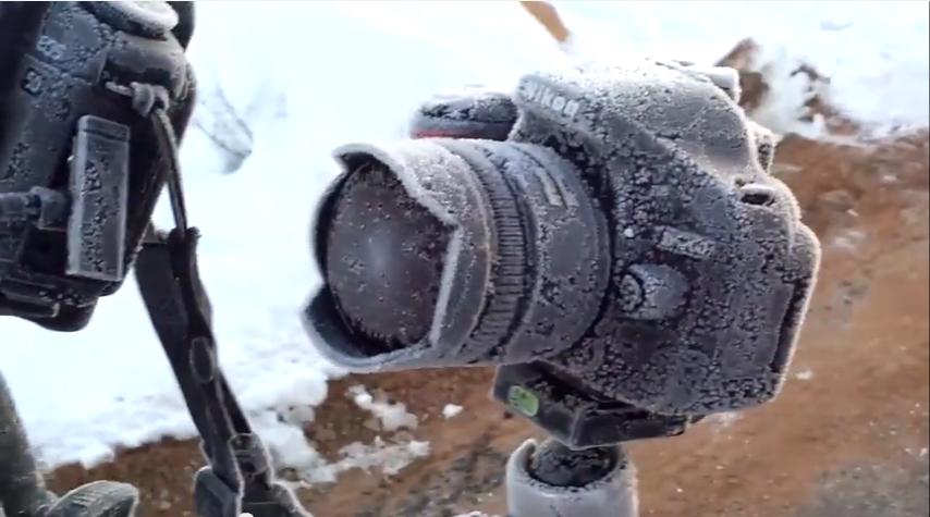 Frozen DSLR Rescue