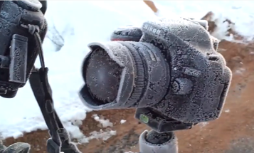 Video: How Do You Rescue a Camera Covered in Ice?