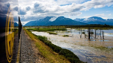 train ride in alaska