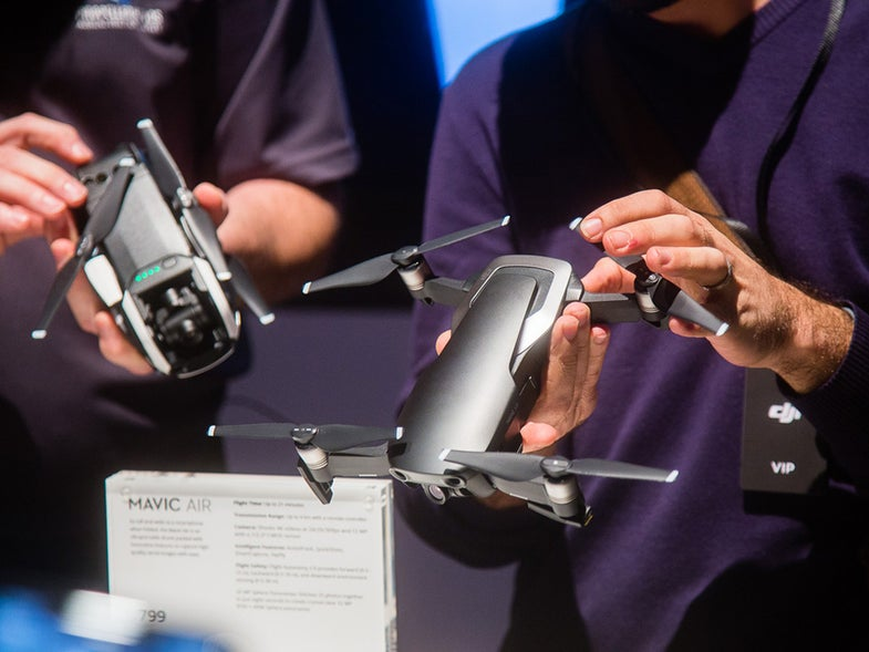 DJI Mavic Air Drone presentation