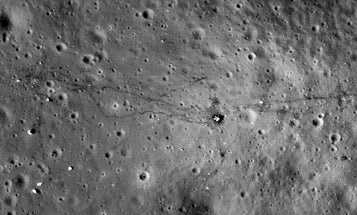 New NASA Shots Show Our Footprints On The Moon