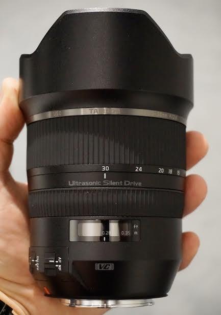 Tamron 15-30mm F/2.8 Full-Frame Zoom Lens Photokina 2014