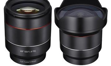 Samyang Announces Two Autofocus Prime Lenses For Sony E-Mount: 14mm f/2.8 and 50mm f/1.4