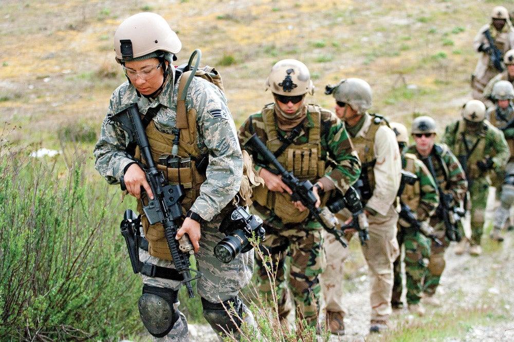 Combat Camera photographers