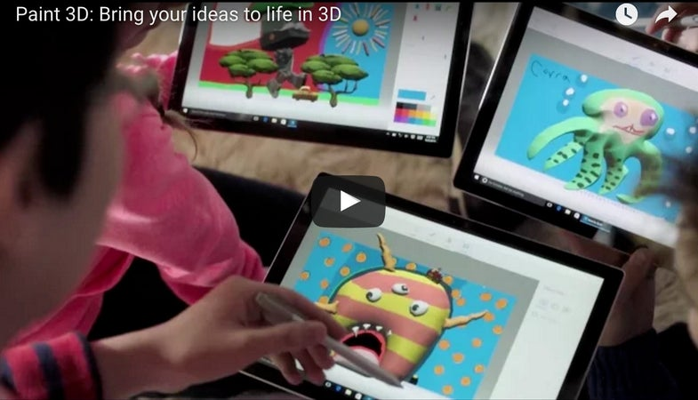 Microsoft Paint 3D With three dimensional object scanning
