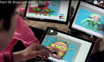 Windows 10 Creators Update Brings 3D Objects To MS Paint, Including 3D Scanning With Smartphone Cameras
