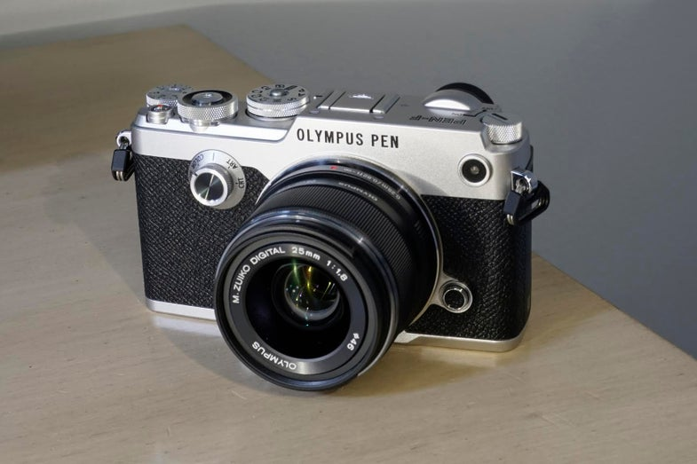 Olympus PEN-F Micro Four Thirds Digital Camera Hands-On First Impressions