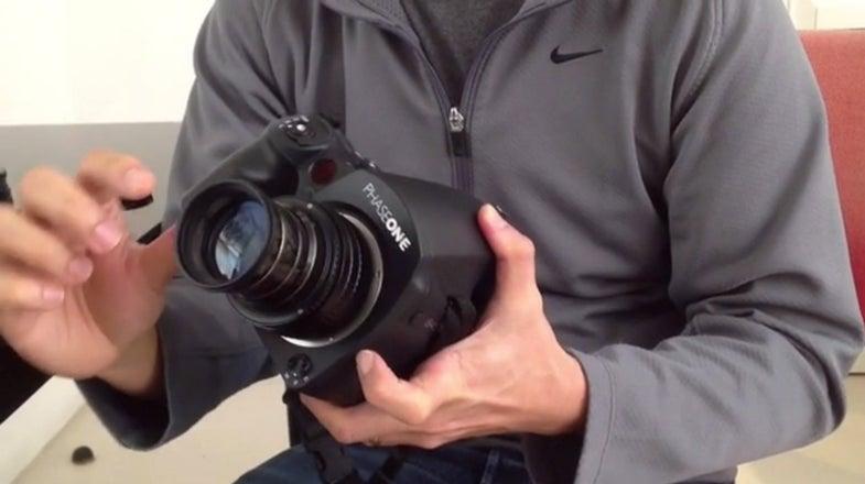 Phase one cinema lenses