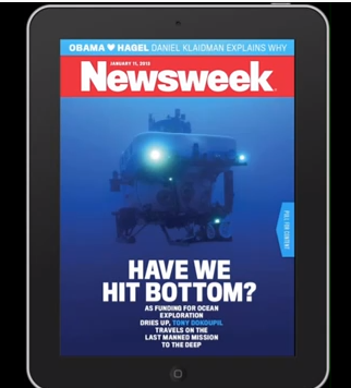 Animated Newsweek Cover