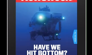 How Underwater Photographer Hugh Gentry Shot Newsweek's First Animated Cover