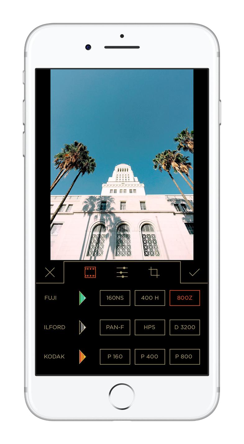 Mastin Filmborn Photo Editing App