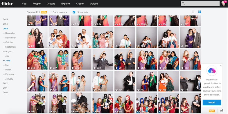 Yahoo Gives Flickr another Overhaul, Adds Camera Roll Feature