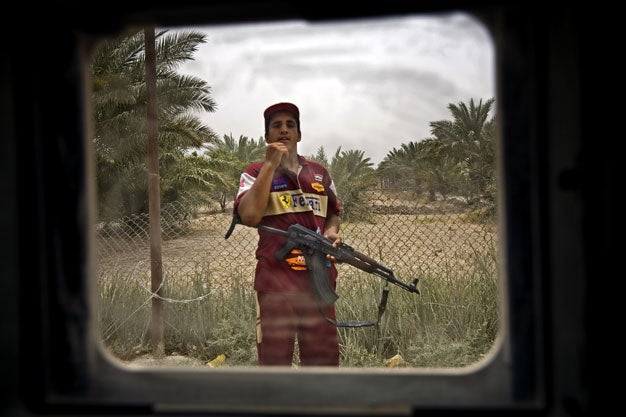 Ben Lowy Iraq 1