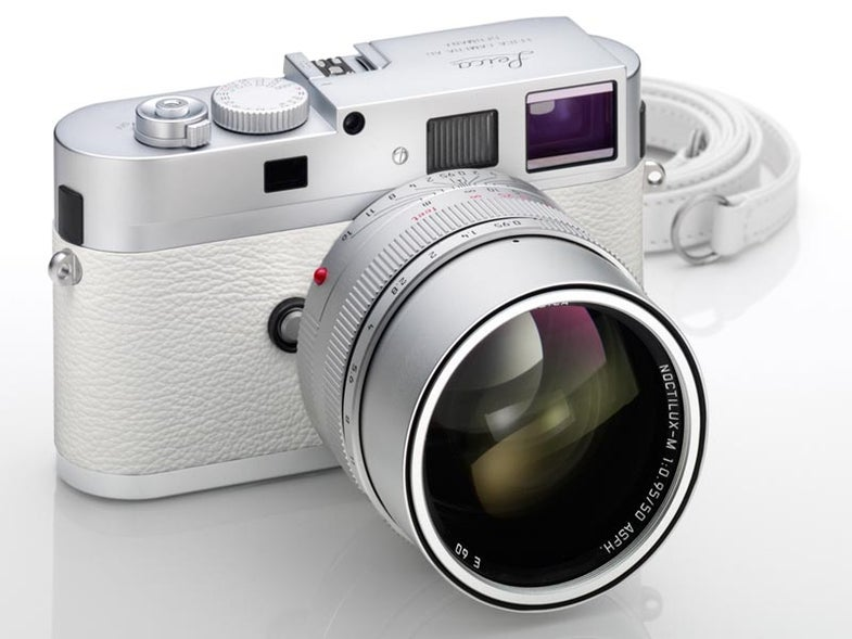 White leica m9-p