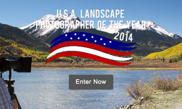 Enter the U.S.A. Landscape Photographer of the Year 2014 Contest