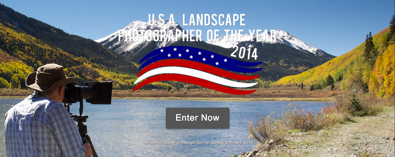 USA Landscape Photographer of the year 2014