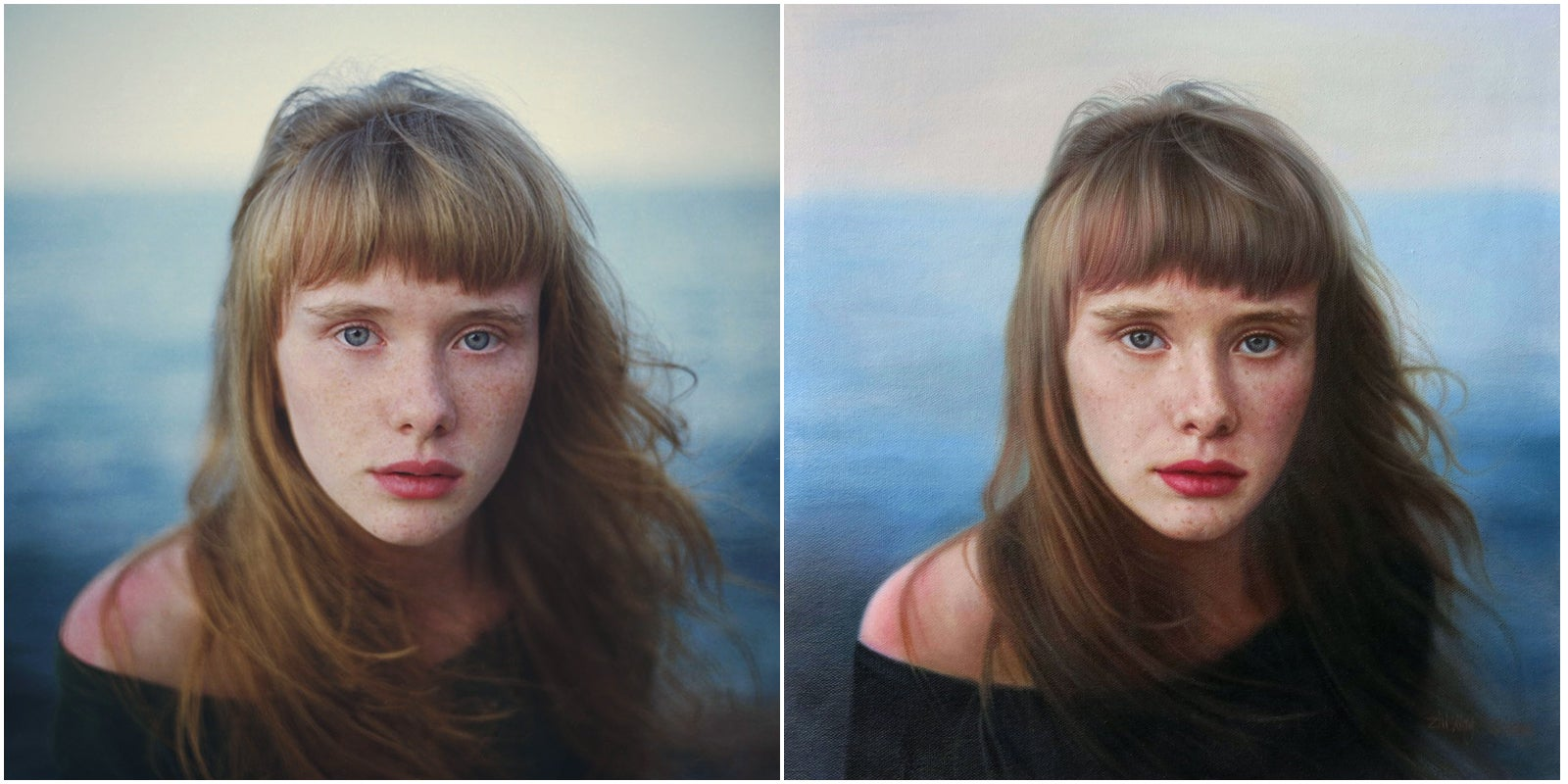 The Photographer's Oil Collective Commissions a Talented Painter to Recreate Your Photo